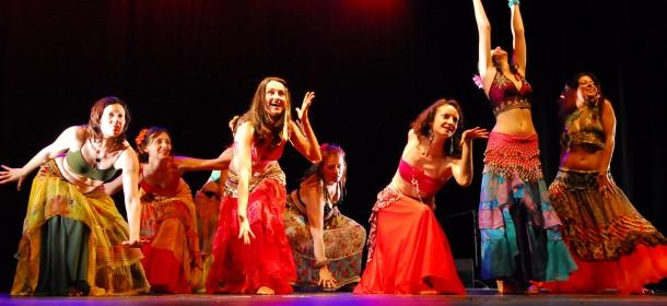 Danza tribal Spettacolo Ethnika e la Luna
