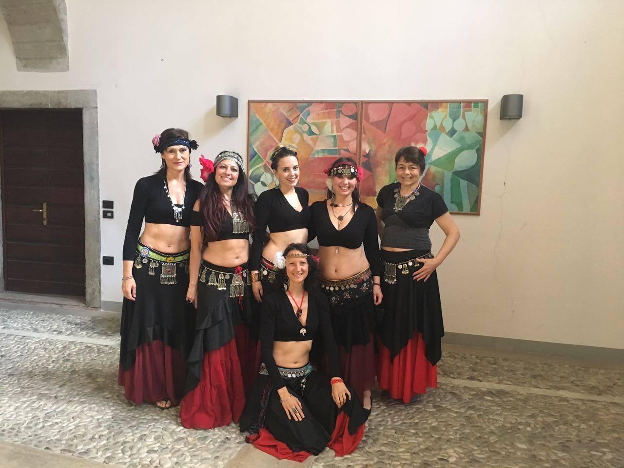 Pronte per Arcozen- danza orientale in Trentino