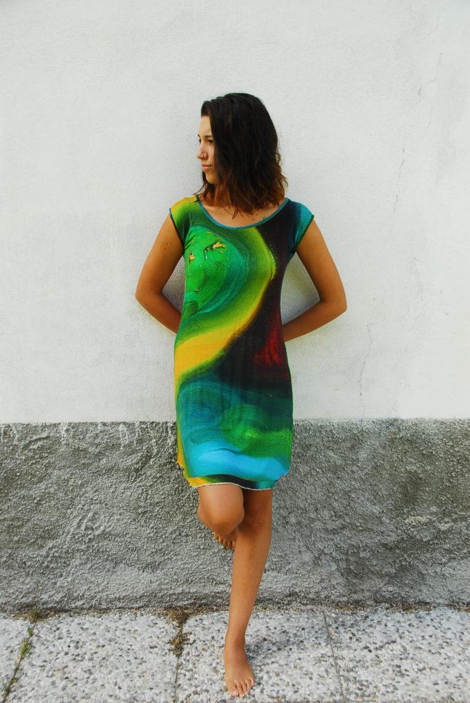 L'arte addosso- I miei quadri sono diventati dei vestiti