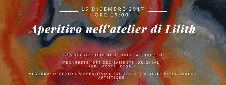 Aperitivo all'Atelier di Lilith a Rovereto