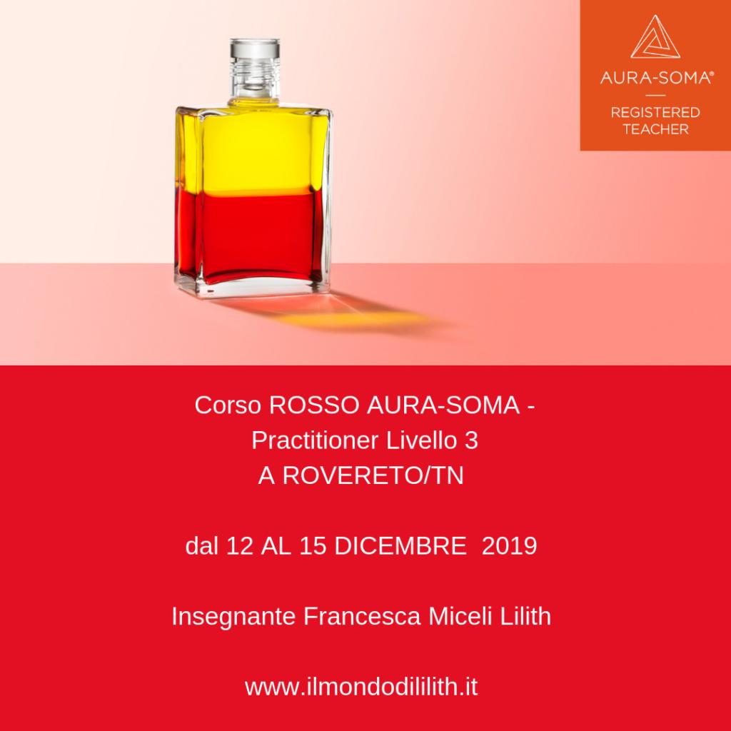 Corso rosso Aura-soma