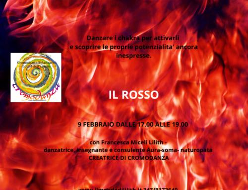 Cromodanza ®: danzare i colori dell'anima- colore ROSSO