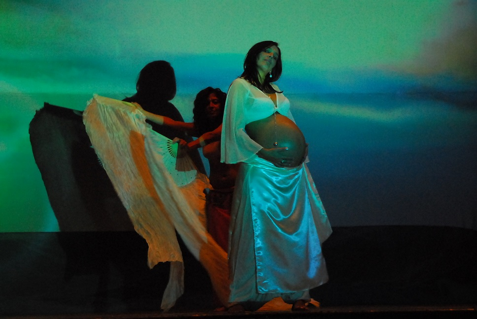 Danza orientale in gravidanza